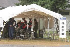 災害画像テント